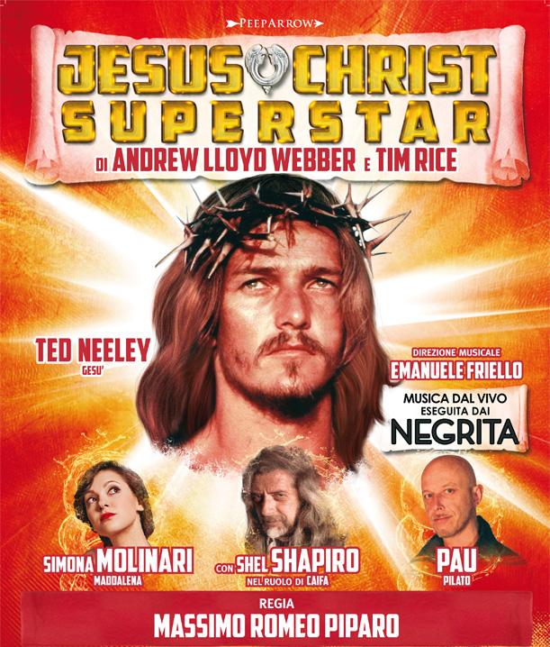Ted Neeley JESUS CHRIST SUPERSTAR XX°ANNIVERSARIO
