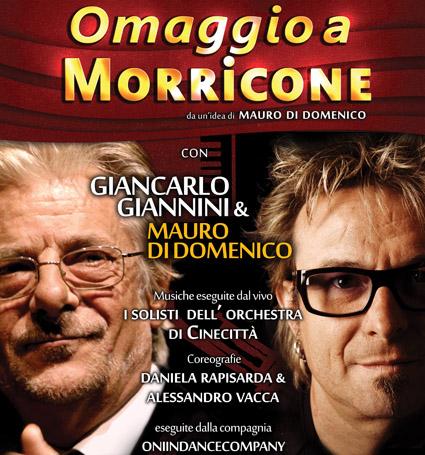 Giancarlo Giannini e Mauro di Domenico OMAGGIO A MORRICONE