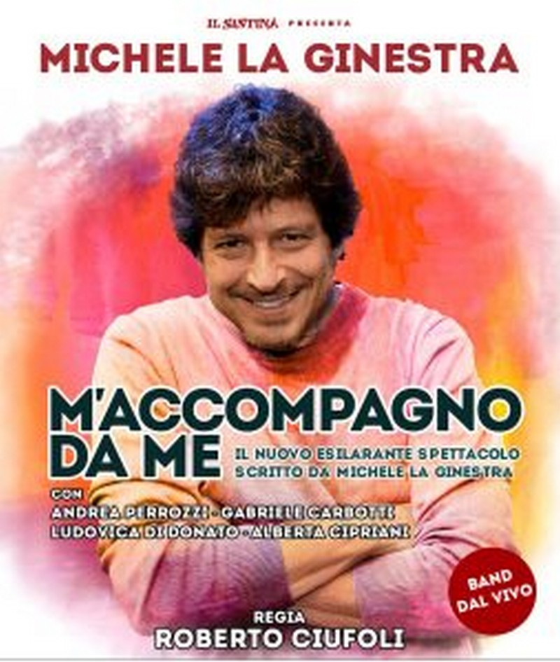 Michele La Ginestra in M'ACCOMPAGNO DA ME