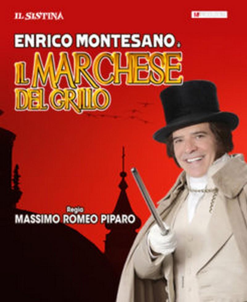 Enrico Montesano è IL MARCHESE DEL GRILLO