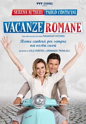 Serena Autieri e Paolo Conticini VACANZE ROMANE