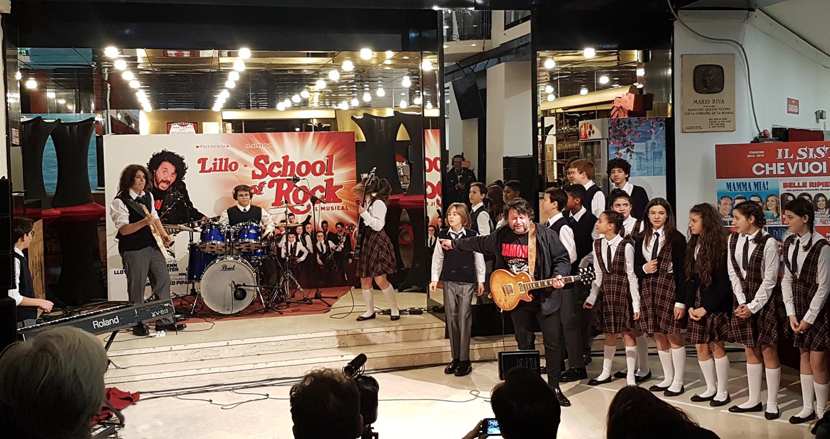 """L'IRREFRENABILE ENERGIA DI """"SCHOOL OF ROCK"""". Il musical presentato alla stampa"""
