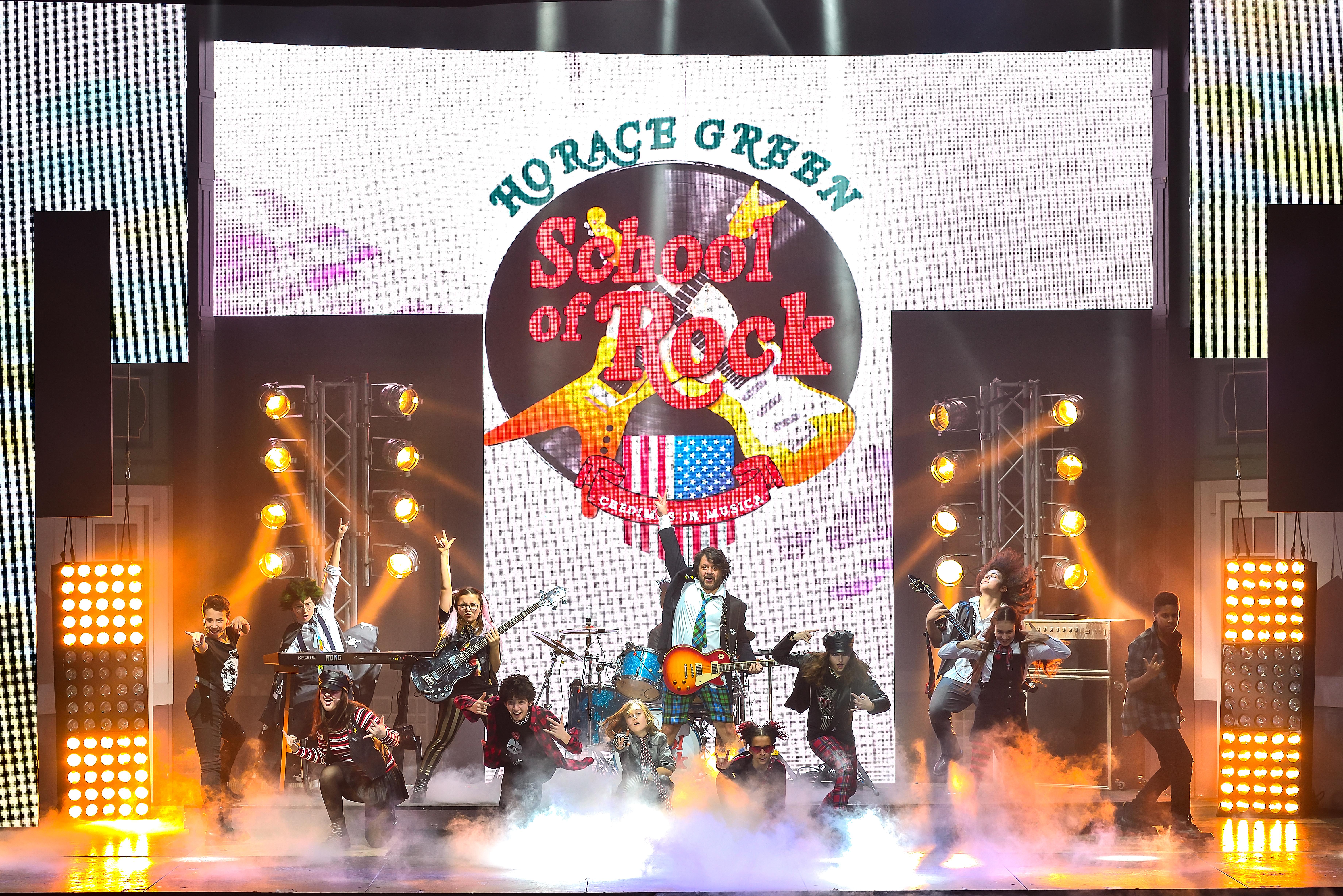 Ultimo week-end per SCHOOL OF ROCK!