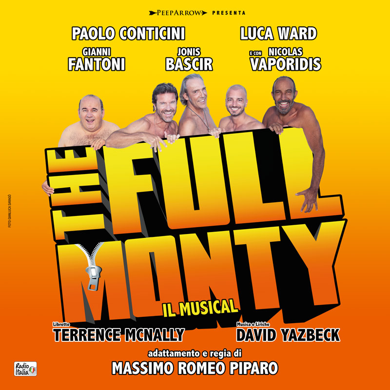 THE FULL MONTY PRESENTATO IN CONFERENZA STAMPA